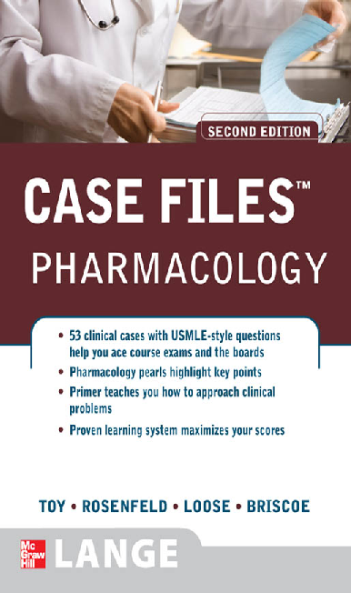 PDF) Case Files - Pharmacology | Juan Hurtado - Academia edu