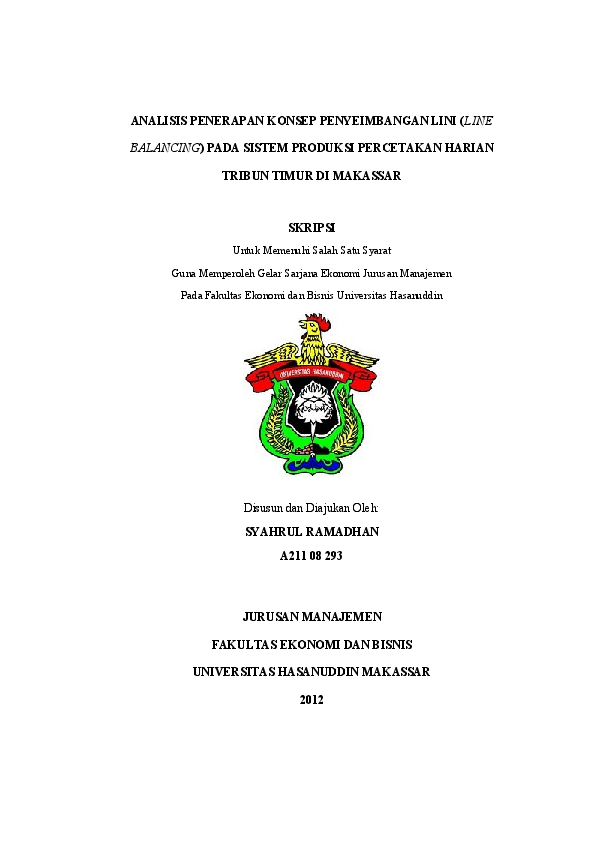 Skripsi Syahrul Ramadhan A21108293 Afina Mahardhika Academia Edu