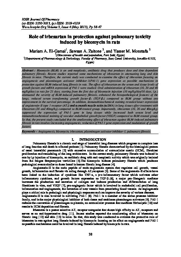 Pdf Iosr Journal Of Pharmacy Iosr Journal Of Pharmacy Academia Edu