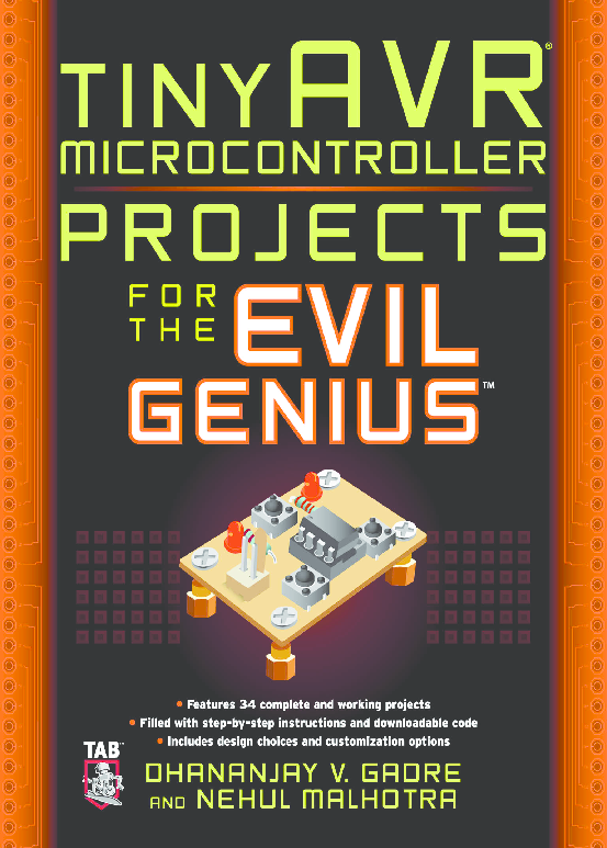 PDF) 10494660-tiny AVR microcontroller Projects for Evil the