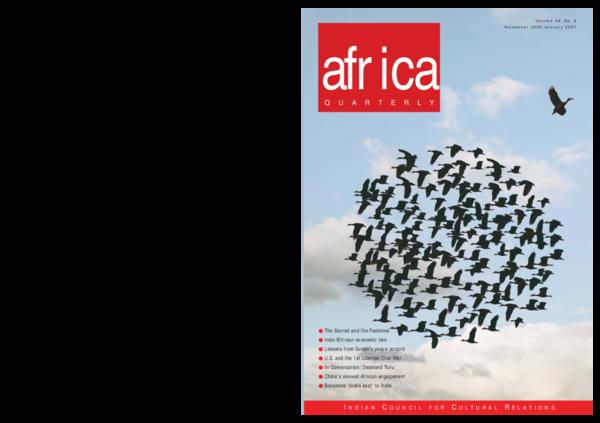 PDF) Chinas Strategic Engagement with Africa, November 2006