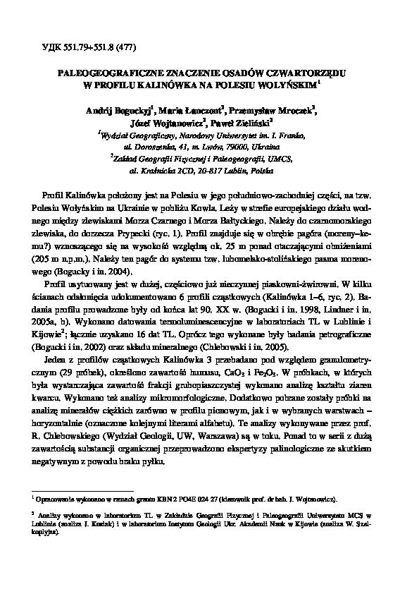 Datowanie względne laboratorium kopalne
