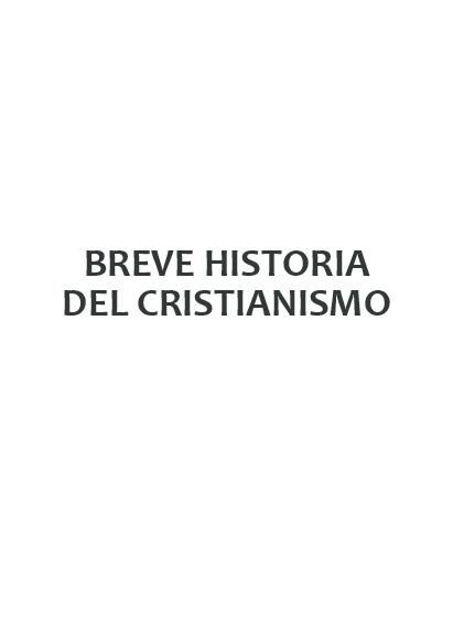 Pdf Breve Historia Del Cristianismo Yván Balabarca