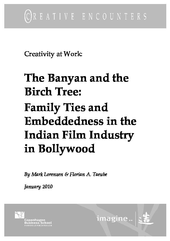 Pdf The Banyan And The Birch Tree Mark Lorenzen Academia Edu