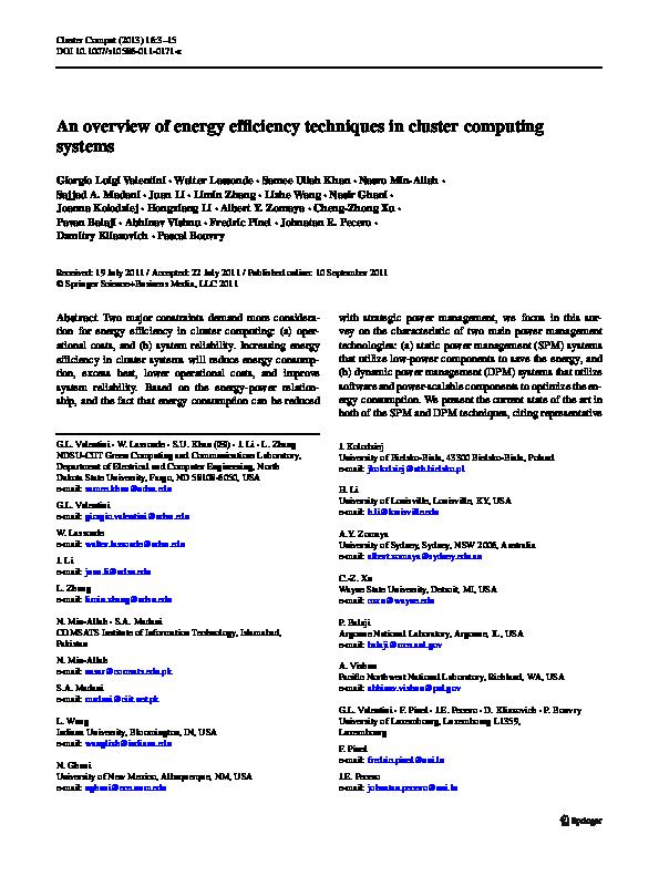 PDF) 10 1007 s10586 011 0171 x | Ubu Ubu - Academia edu