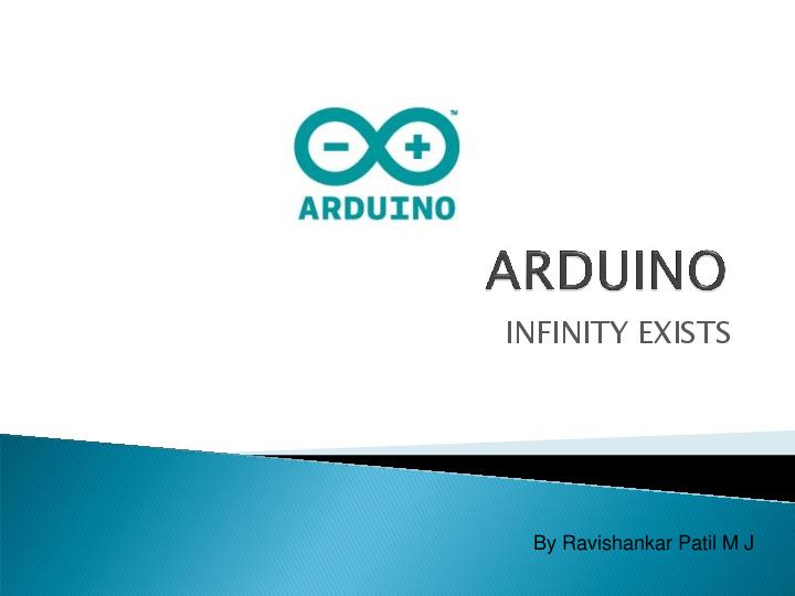 PPT) ARDUINO presentation by Ravishankar Patil M J