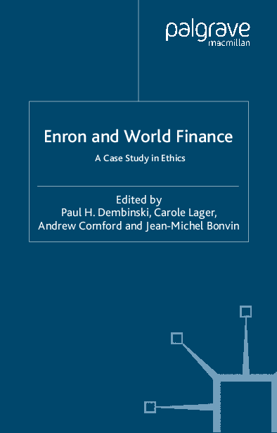 PDF) Enron and World Finance - A Case Study in Ethics | Ibrahim