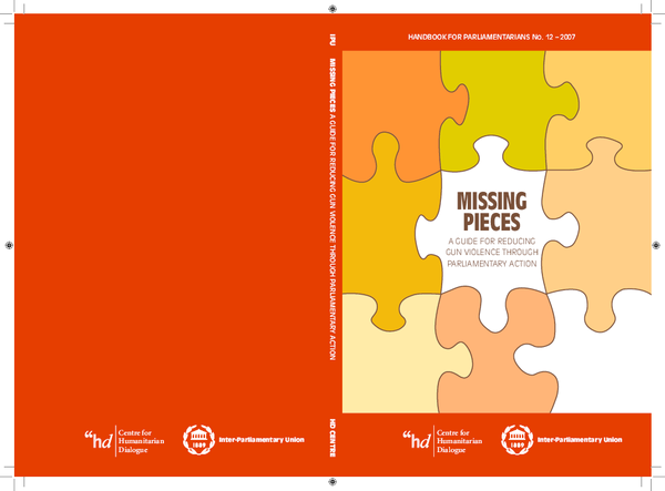 PDF) Missing Pieces: Directions for reducing gun violence
