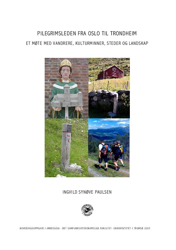 PDF) Pilegrimsleden fra Oslo til Trondheim  Et møte med