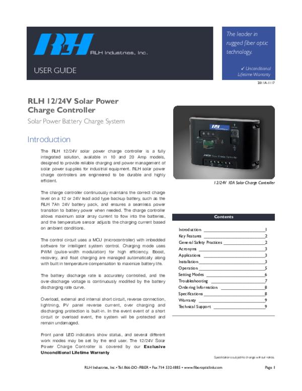 Pdf Charge Controller Solar Power Battery Charge System Akshat Garg Academia Edu