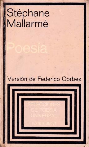 Pdf Mallarme Stephane Poesia 1864 1897 Edicion Bilingue
