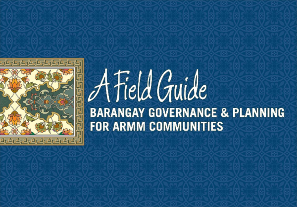 PDF) Barangay Governance and Planning for ARMM Communities: A Field