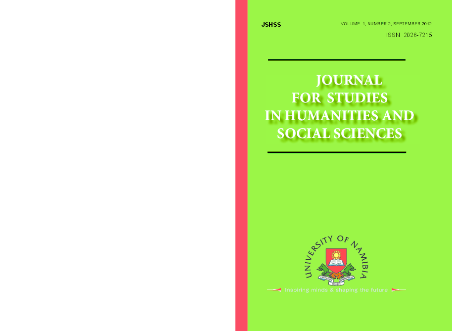 PDF) JOURNAL FOR STUDIES IN HUMANITIES AND SOCIAL