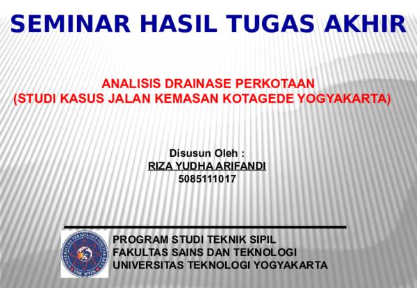 Ppt Presentasi Seminar Ta Riza Ody Orion Academia Edu