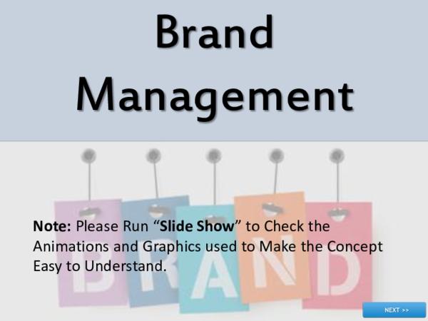 Ppt Brand Management Kalpana Bujji Academia Edu