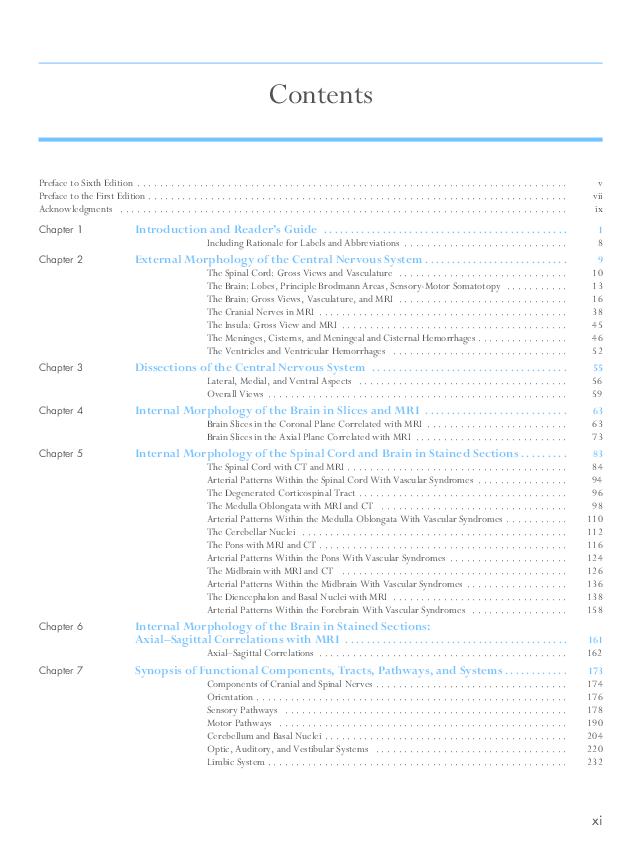 Neuroanatomy In Clinical Context Pdf