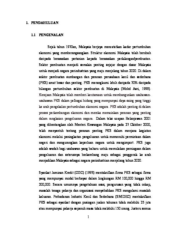 Doc 944 4 Kajian Kerja Kursus Baik Hj Atin Banjamin Ismail Academia Edu