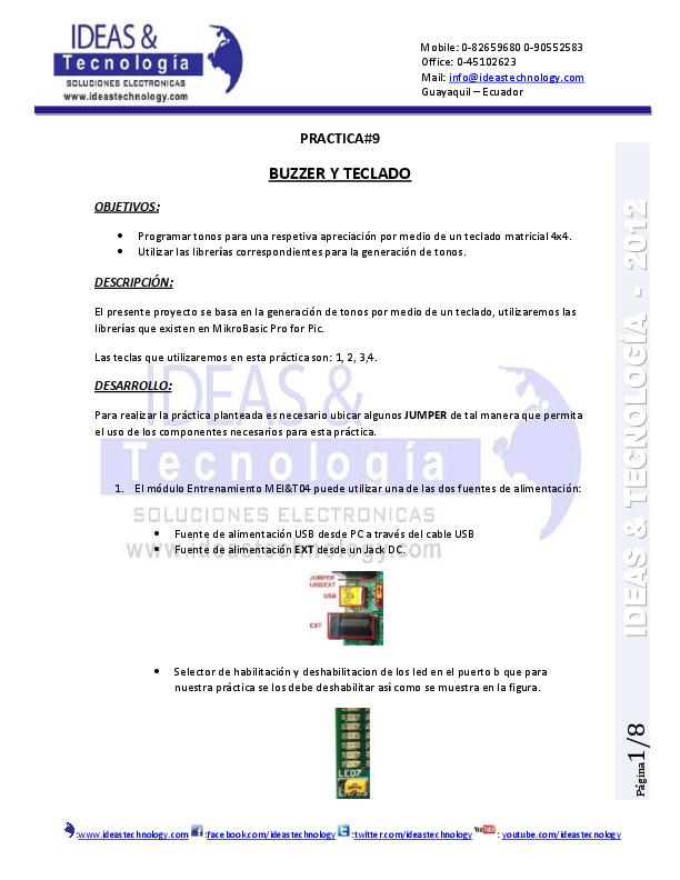 Practicas con microcontroladores pic pdf creator