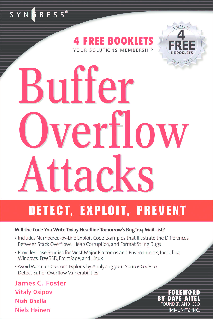 PDF) Syngress__Buffer Overflow Attacks - Detect Exploit Prevent