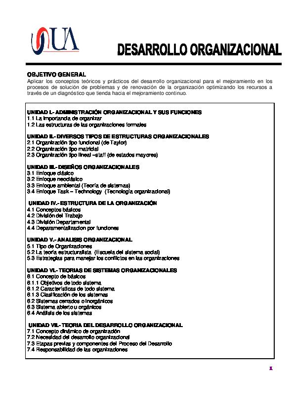 Pdf Antologia Desarrollo Organizacional Monitoreo De Mac
