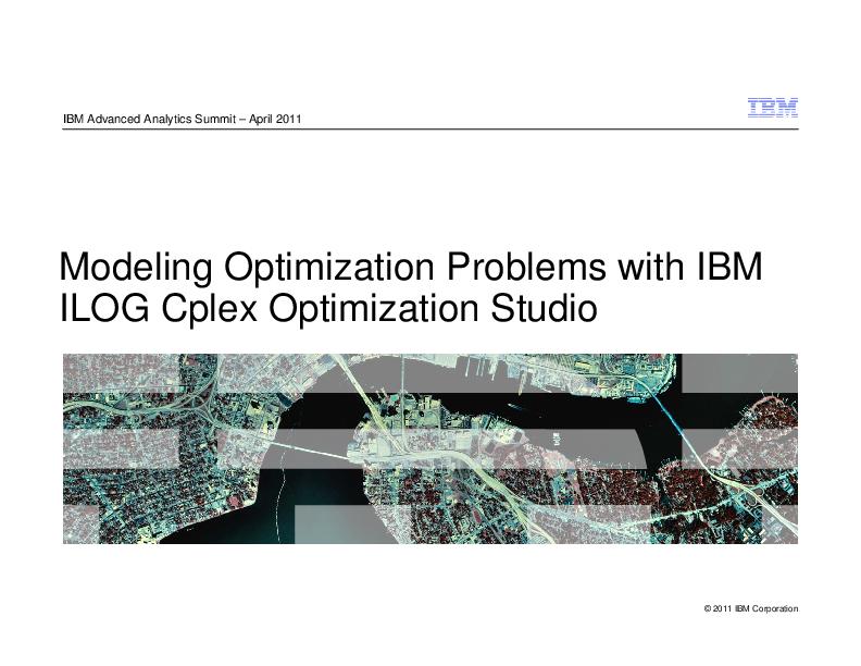 PDF) 1 ILOG Modeling Examples   Osman Hamdi - Academia edu