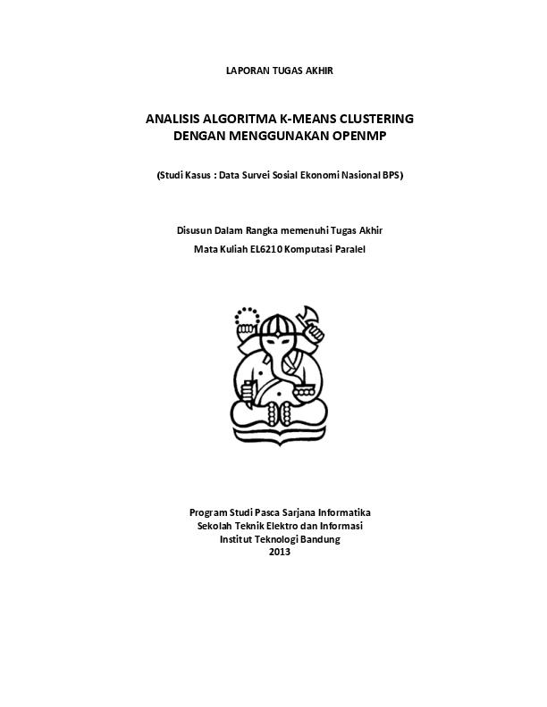 (PDF) ANALISIS ALGORITMA K MEANS CLUSTERING DENGAN ...