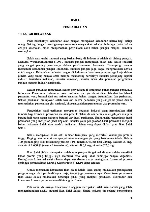 Doc Makalah Pemasaran Usaha Keripik Belut Sevni Wanti Academia Edu