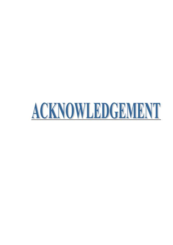 PDF) ACKNOWLEDGEMENT | Rohit Kumar - Academia edu