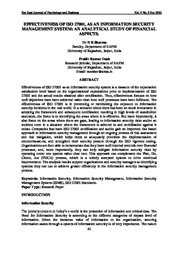 Pdf standard iso 27001