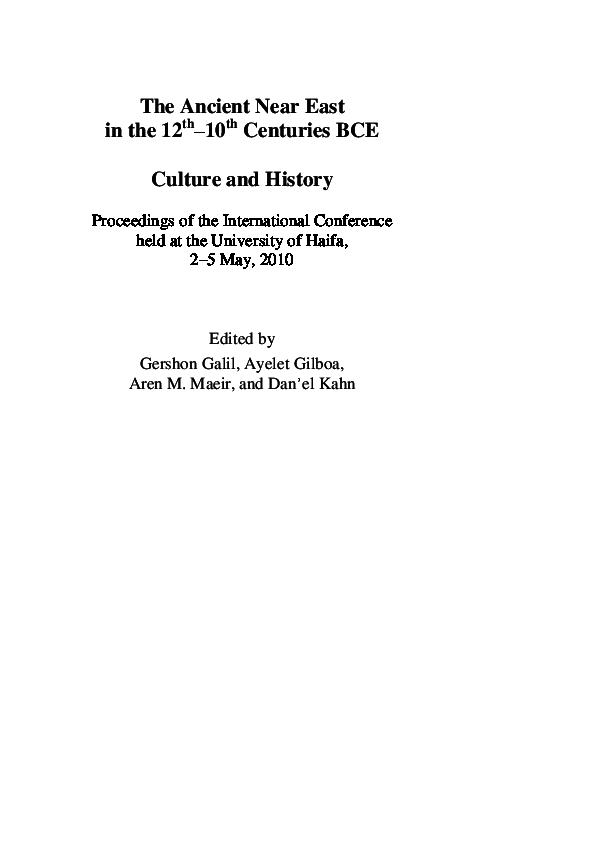 Pdf šîšaq S Army 2 Chronicles 12 2 3 From An Egyptological
