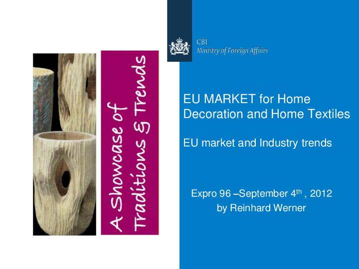 PDF) EU MARKET for Home Decoration and Home Textiles EU