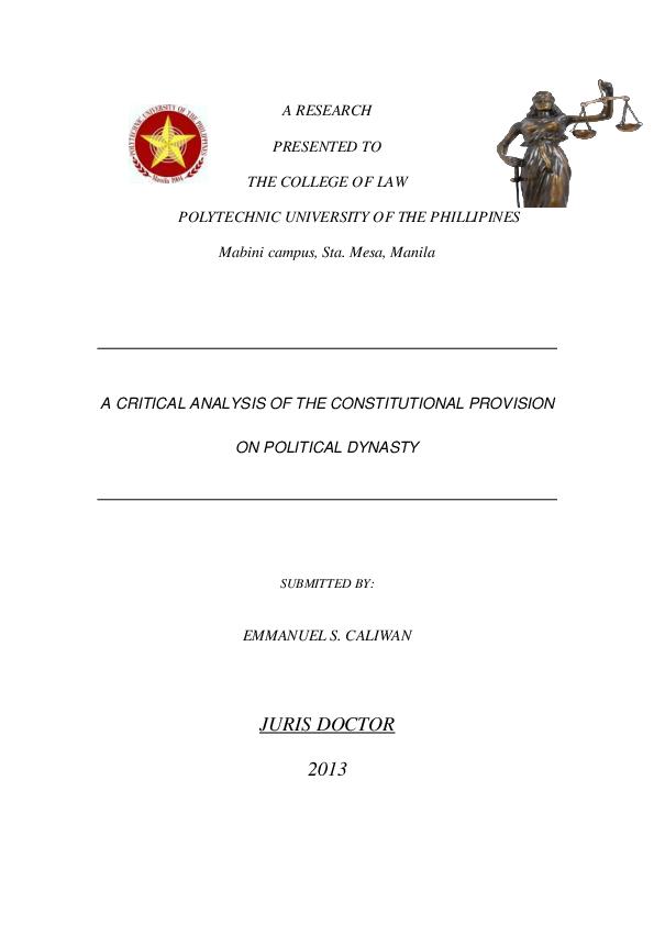 Constitution hector leon pdf de by philippine 1987