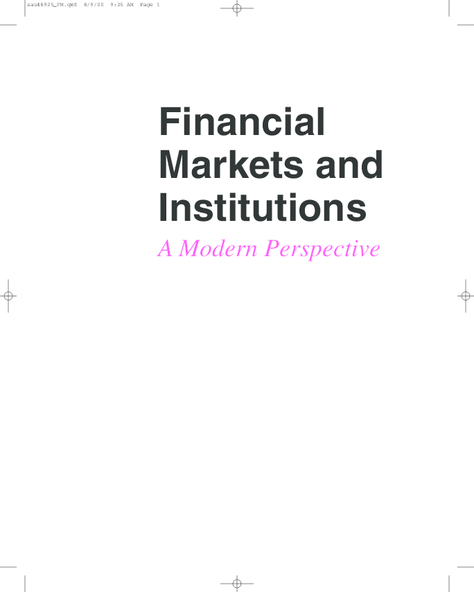 Finance levi pdf international