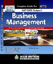 PDF) Complete guide for NTS GAT/GRE Subject Business