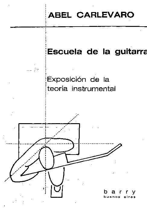 Abel Carlevaro Escuela De La Guitarra Pdf