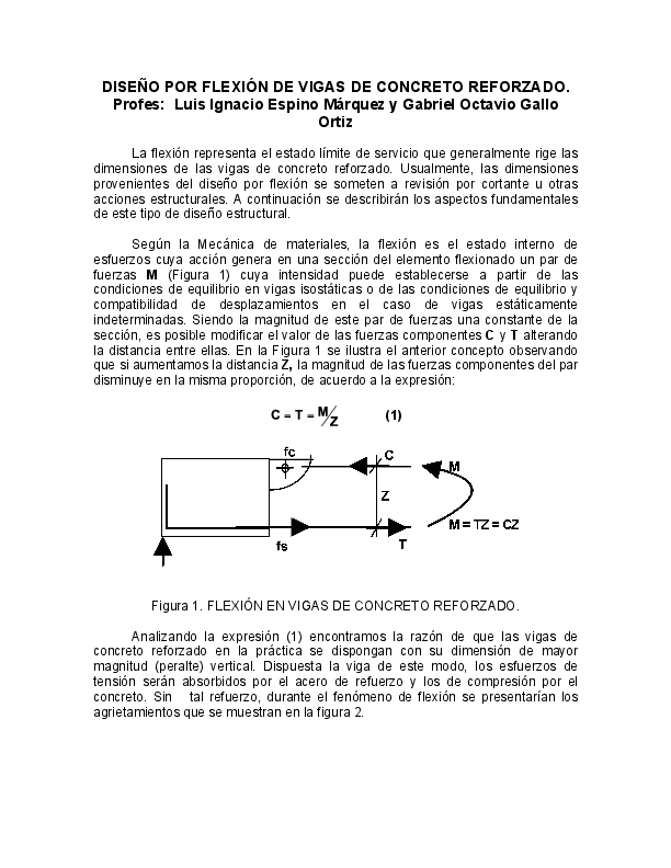 Tipos de vigas pdf