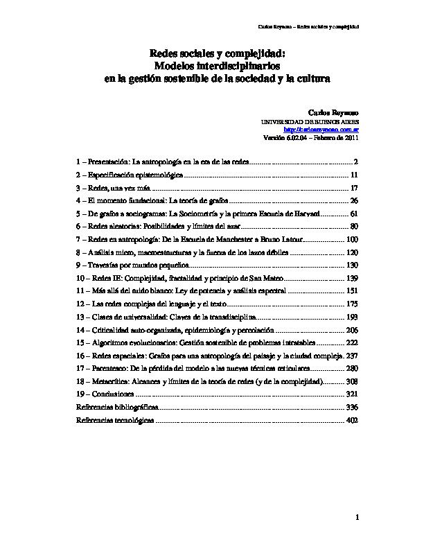 Redes Y Complejidad2 Roger Landa Academia
