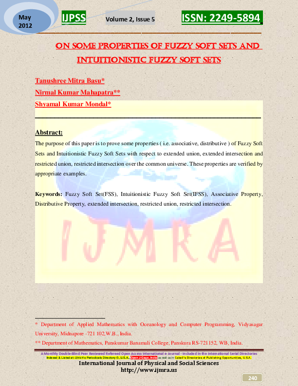 www ijmra us | Publisher ijmra us UGC Approved - Academia edu