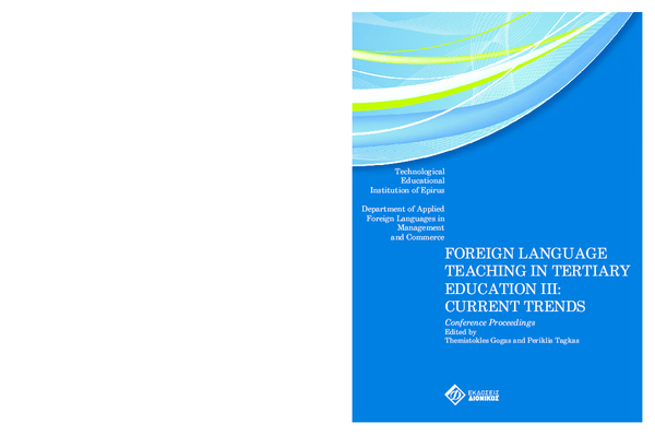 dc44b42892 PDF) ESP curriculum development  an example from tertiary education ...