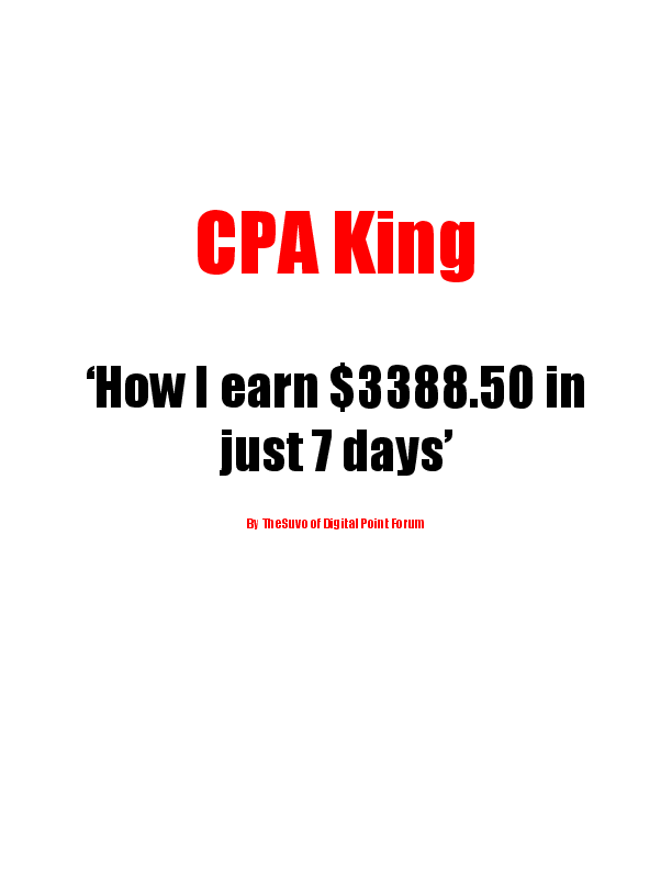 PDF) CPA King 'How I earn $3388 50 in just 7 days' | AKM