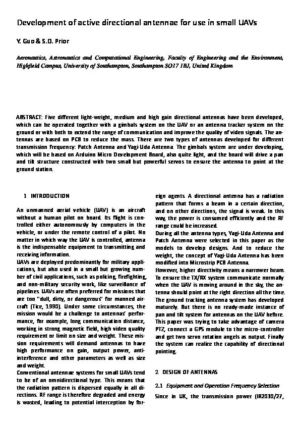 Yagi Uda Antenna Design Using Hfss