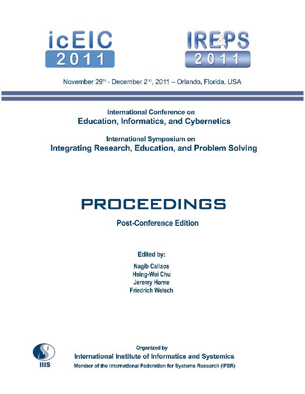 9fc86b653 International Conferences on Education