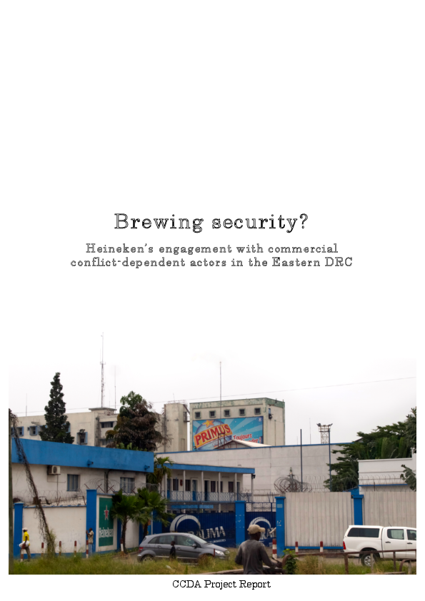 PDF) Brewing security? Heineken's engagement with commercial