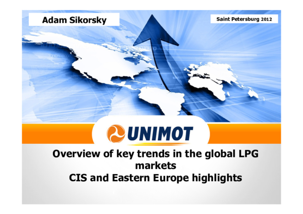 PDF) Overview of key trends in the global LPG markets CIS