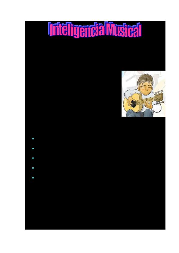 Pdf Inteligencia Musical Katia Quispe Rivera Academia Edu