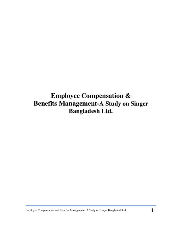 compensation system of nestle