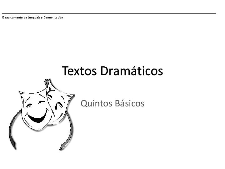 Ppt Texto Dramatico Sexto Cristina Amas Academia Edu