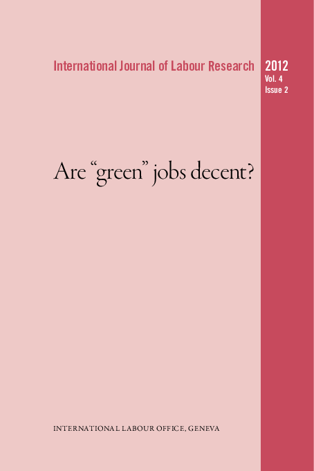"PDF) Working conditions in ""green jobs"": Women in the"