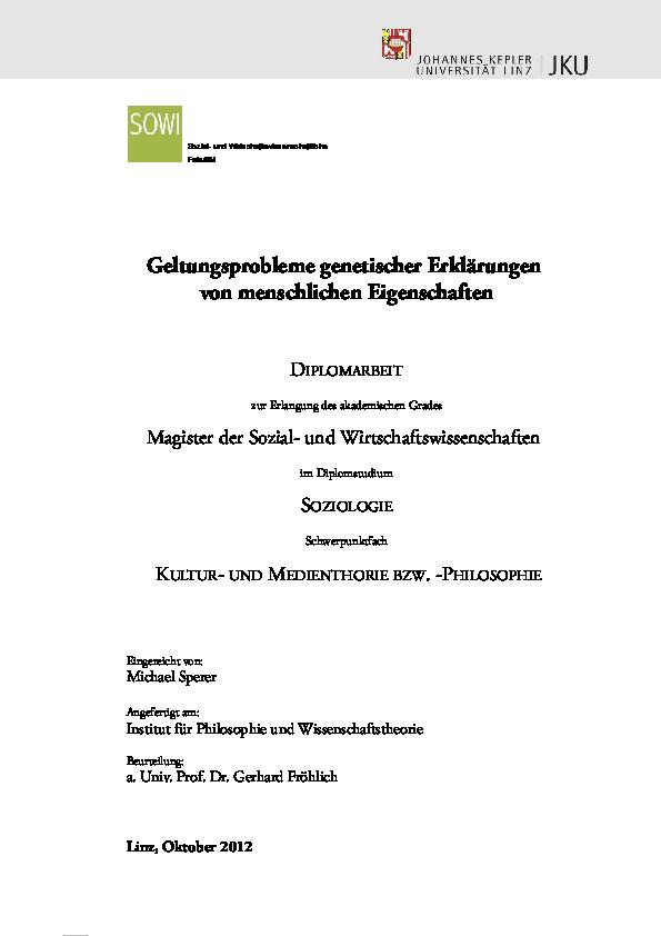 Genotyp Diät pdf