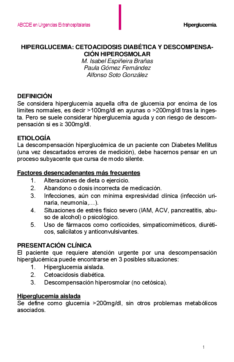 Fisiopatologia De La Cetoacidosis Diabetica Ebook Download